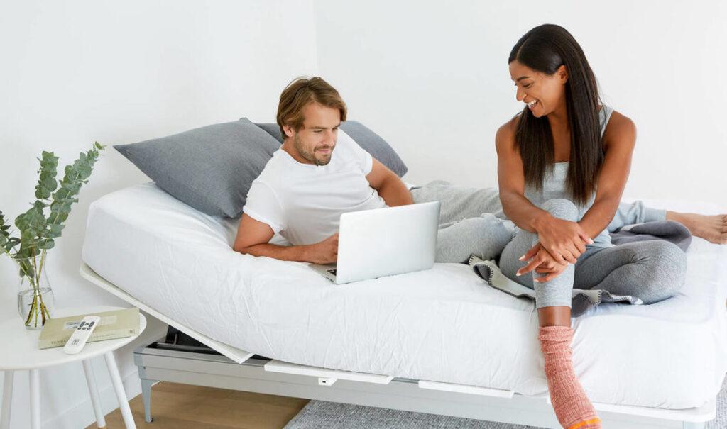 Yaasa mattress and adjustable bed