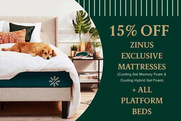 Zinus Memorial day sale 2019