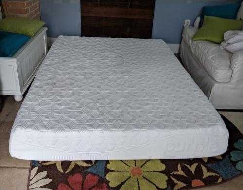 Purple mattress original cover
