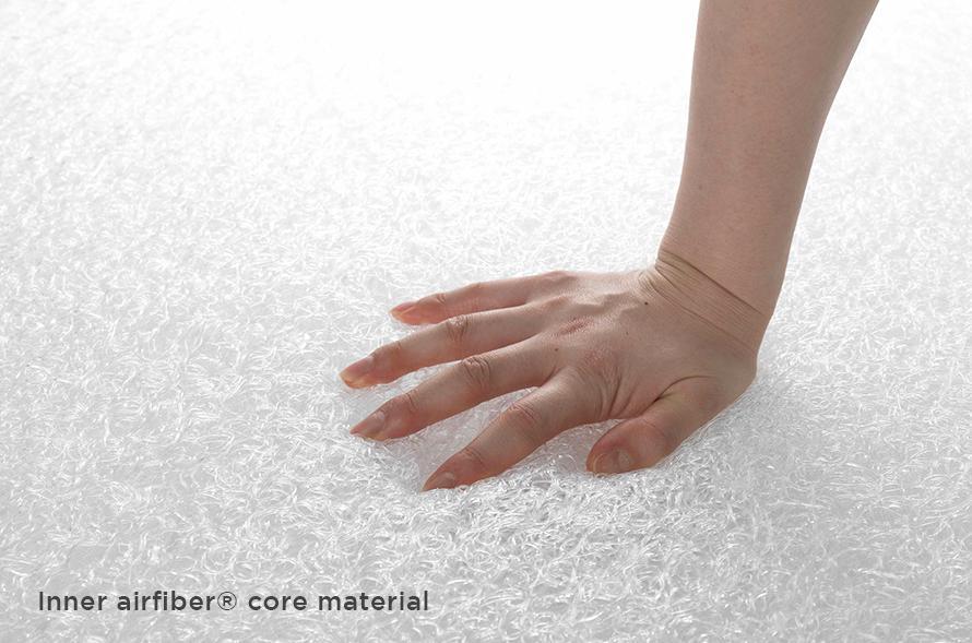 inside an Airweave mattress